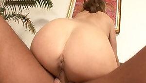 Crazy pornstar Rebecca Bardoux in amazing blowjob, brunette carnal knowledge scene