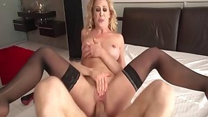 Fabulous pornstar Cherie DeVille everywhere horny facial, big ass full-grown coupler