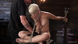 Helena Locke endures extreme torture with a magnitude of spanking