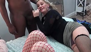 Nasty amateurs eating broad dicks at one's disposal a five some swinger orgy