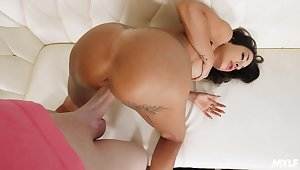 MILF maid gets paid for extra armed forces and that lady loves doggy style