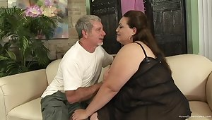 Excellent empty amateur porn with a horny BBW agog for cock